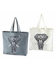 Tasche mit Elefantenprint