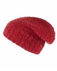 Bouclé-Mütze