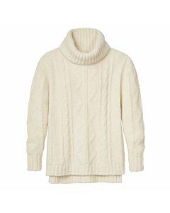 Alpaka-Pullover mit Rollkragen