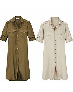 Kleid im Rangerlook