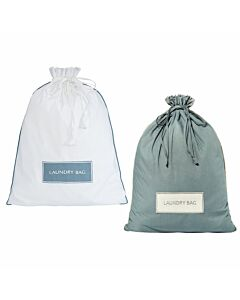 Wäschebeutel, grau oder weiß