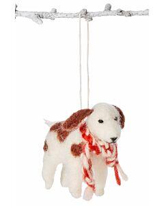 Filzanhänger, Hund