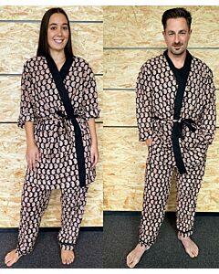 Kimono-Hausanzug, unisex