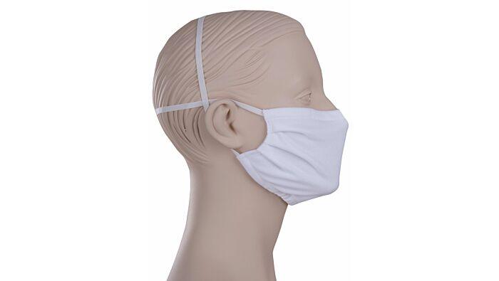 2er-Set wiederverwendbare Behelfs-Mund- und Nasenmaske Trigema