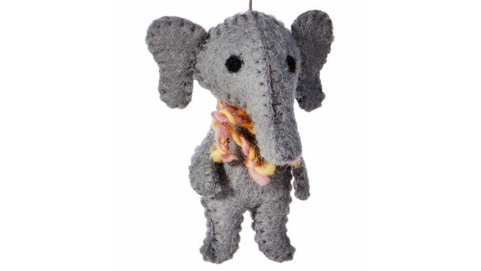 Filzanhänger, Elefant